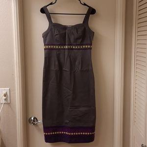 Boden Gray Sleeveless Dress